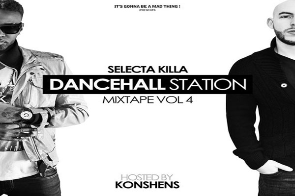 <strong>Download Selecta Killa &#8211; Dancehall Station Mixtape Vol 4 &#8211; Hosted By Konshens</strong>