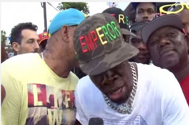 SHABBA RANKS INTERVIEW ONSTAGE TV WITH WINFORD WILLIAMS – MAY 2014