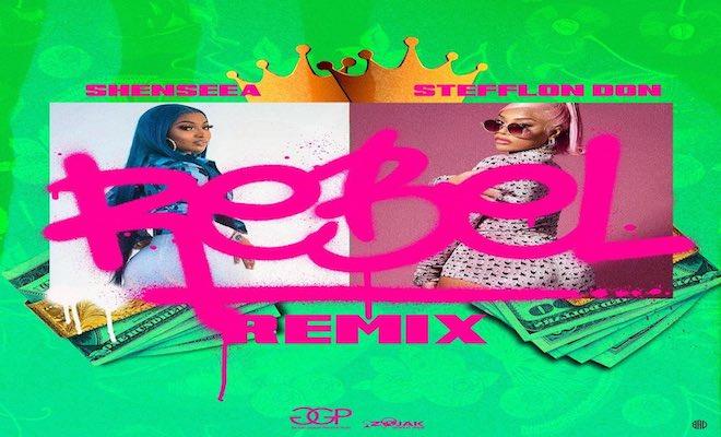 shenseea rebel remix zum stefflon don good good productions 2021