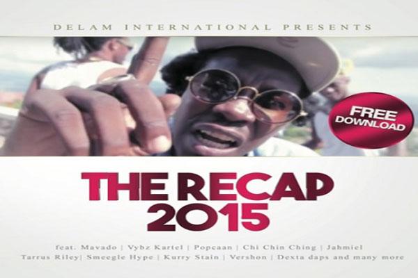 stream or download free dancehall music delam-int-the-recap-2015 mixtape