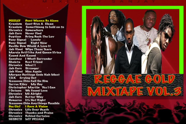 Stream Reggae Gold Mixtape Vol 3 (January 2017) Chronixx