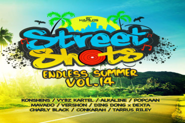 <strong>LISTEN TO STREET SHOTS (Endless Summer) DANCEHALL COMPILATION VOL 14</strong>