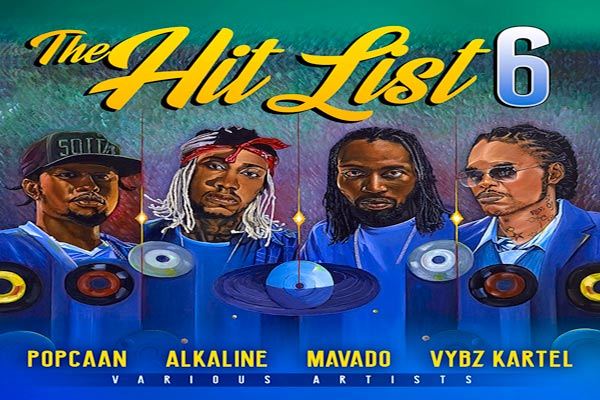 tads records the hit list 6 Dancehall-Compilation-Summer 2017