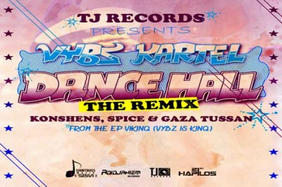 "TJ Records/Adidjaheim Records Vybz Kartel ""Dancehall"" Remix"
