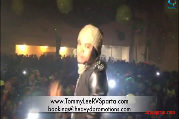 TOMMY LEE SPARTA LIVE SHOW IN PARIS & NEW SINGLE WITH STYLISH