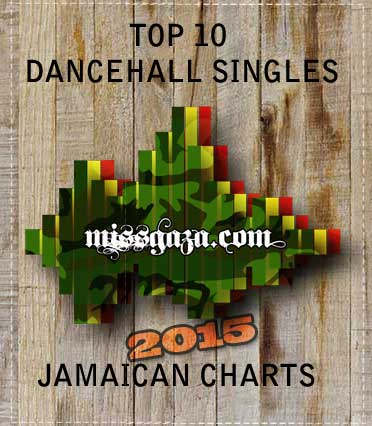 top 10 dancehall singles jamaican charts 2015