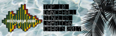 <strong>Top 10 Dancehall Singles Jamaican Charts December 2017</strong>