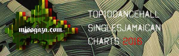 <strong>Top 10 Dancehall Singles Jamaican Charts &#8211; December 2016</strong>