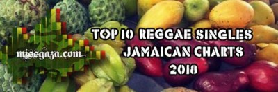 <strong>Top 10 Reggae Singles Jamaican Charts January 2018</strong>
