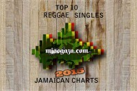 TOP 10 REGGAE SINGLES JAMAICAN CHARTS – JULY 2015