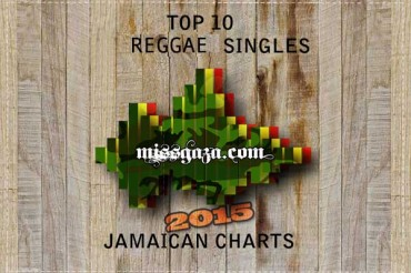 TOP 10 REGGAE SINGLES JAMAICAN CHARTS APRIL 2015