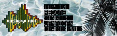 <strong>Top 10 Reggae Singles Jamaican Charts September 2017</strong>