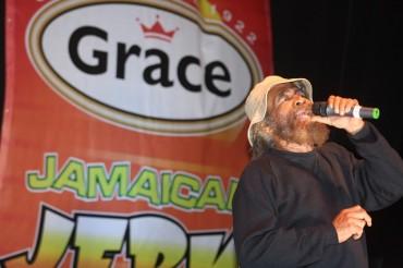 Tribute to John Holt at Grace Jamaican Jerk Festival Sunday Nov 9 2014