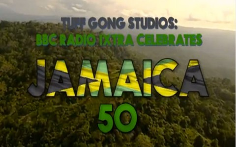 tuff gong studios bbc radio1xtra jamaica 50