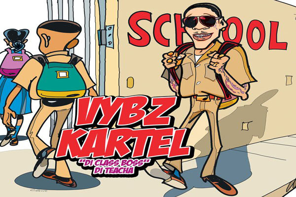 <strong>Vybz Kartel &#8220;School&#8221; Official Video &#038; New Single &#8220;Rich&#8221; [Re-Mastered] &#8211; Oct 2013</strong>