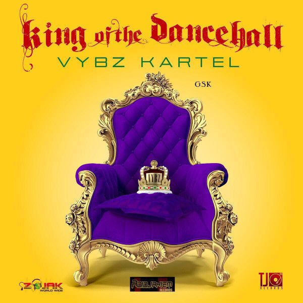 vybz kartel-king of dancehall album cover