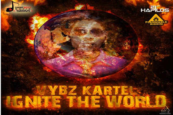 <strong>Listen To Vybz Kartel aka Addi Innocent &#8211; Ignite The World &#8211; Flammable Riddim</strong>