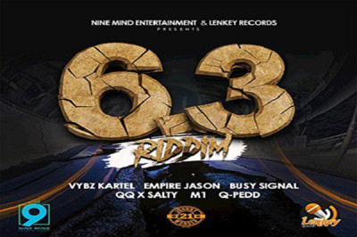 <strong>Listen To 6.3 Riddim Mix &#8211; Vybz Kartel, Busy Signal,QQ &#038; More &#8211; Nine Mind Entertainment</strong>