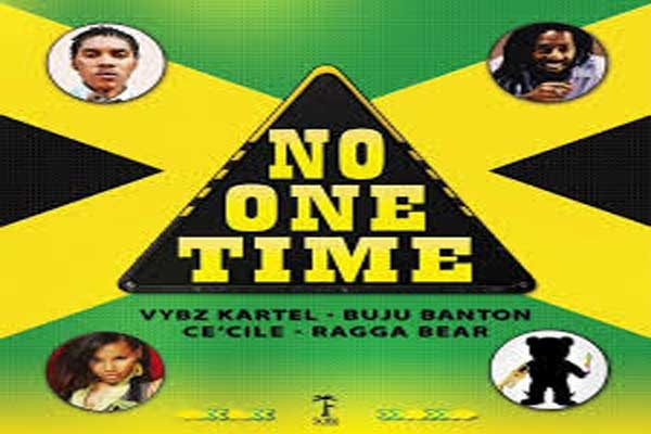 <strong>Vybz Kartel Feat Buju Banton, Ce'Cile &#038; Ragga Bear &#8211; No One Time &#8211; Feb 2014</strong>