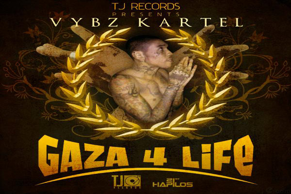 <strong>Vybz Kartel News -Gaza 4 Life  LP &#8211; TJ Records &#8211; Dec 2012</strong>