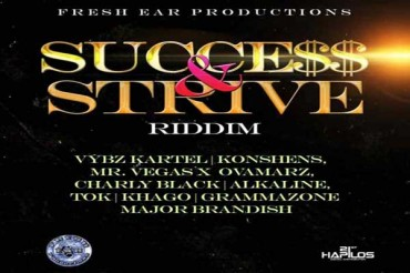 Vybz Kartel -In Love  With You – Success & Strive Riddim – Fresh Ear Productions – Feb 2015
