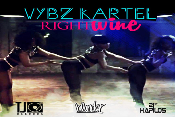 "LISTEN TO VYBZ KARTEL NEW MUSIC ""RIGHT WINE"" & ""DROP TOP"" TJ RECORDS MAY 2013"