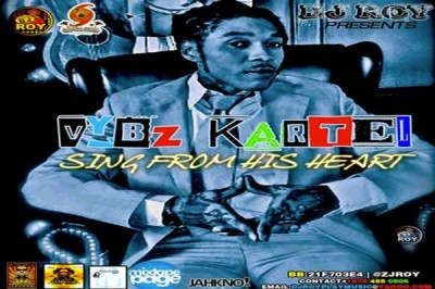 DJ ROY – VYBZ KARTEL SINGS FROM HIS HEART MIXTAPE