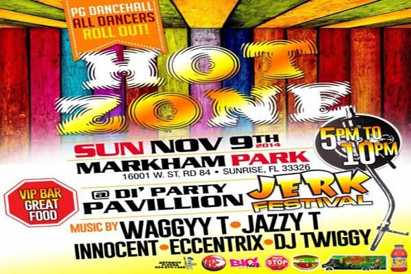 waggy t jazzy t jerk jamaican festival nov 9 sunrise florida