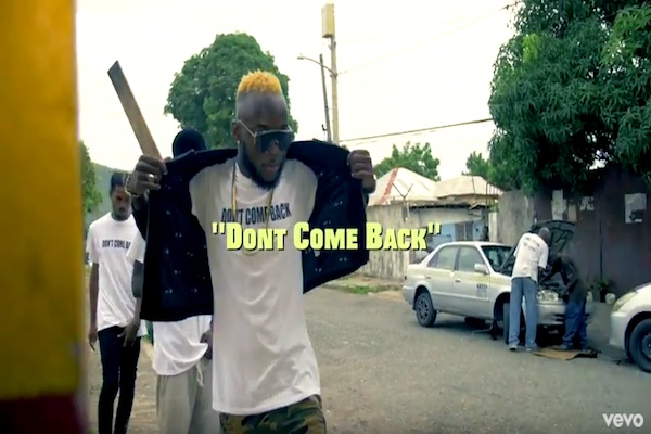 watch vybz kartel dont come back official music video october 2017