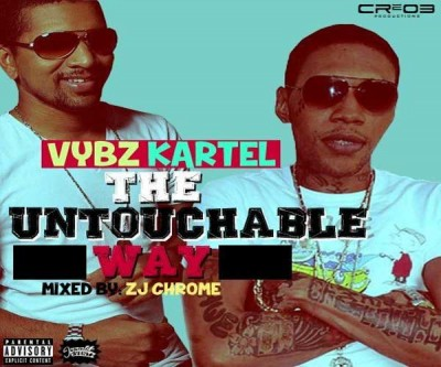 Zj Chrome Presents Vybz Kartel 39 – The Untouchable Way Mix – Jan 2015
