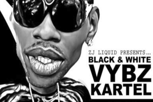 zj liquid-vybz kartel black and white new album cover march 2017